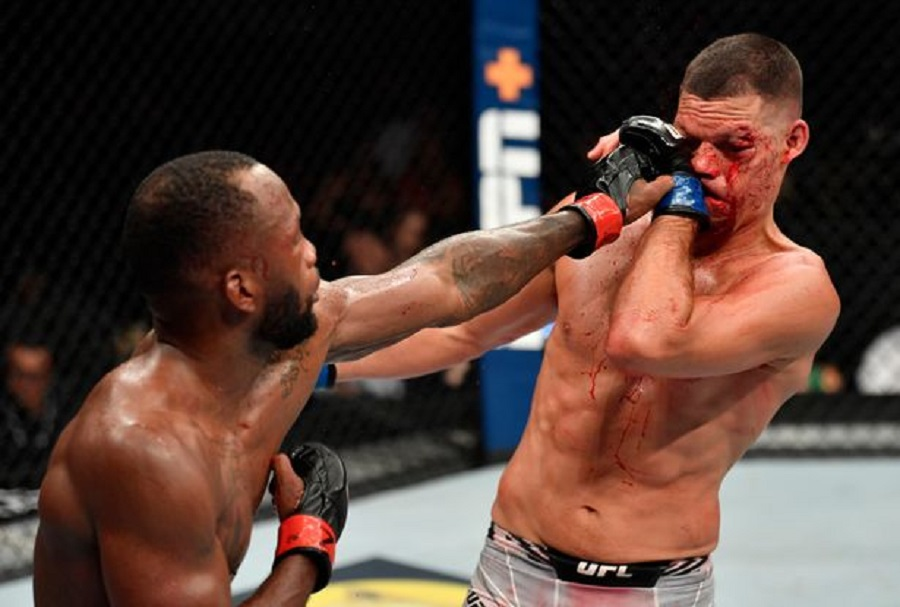 Leon Edwards Survives Late Onslaught To Defeat Nate Diaz At UFC 263
