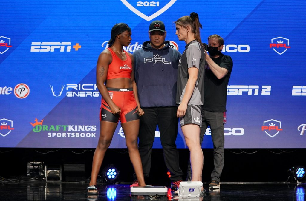 PFL 4 weigh-in results - Women's Boxing Icon Claressa Shields makes weight for her mixed martial arts debut