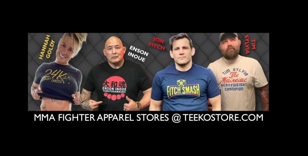Tee KO Is Putting A New Spin On MMA Merch