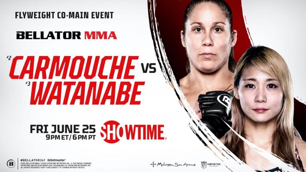 Liz Carmouche vs. Kana Watanabe set as Bellator 261 co-main event on June 25