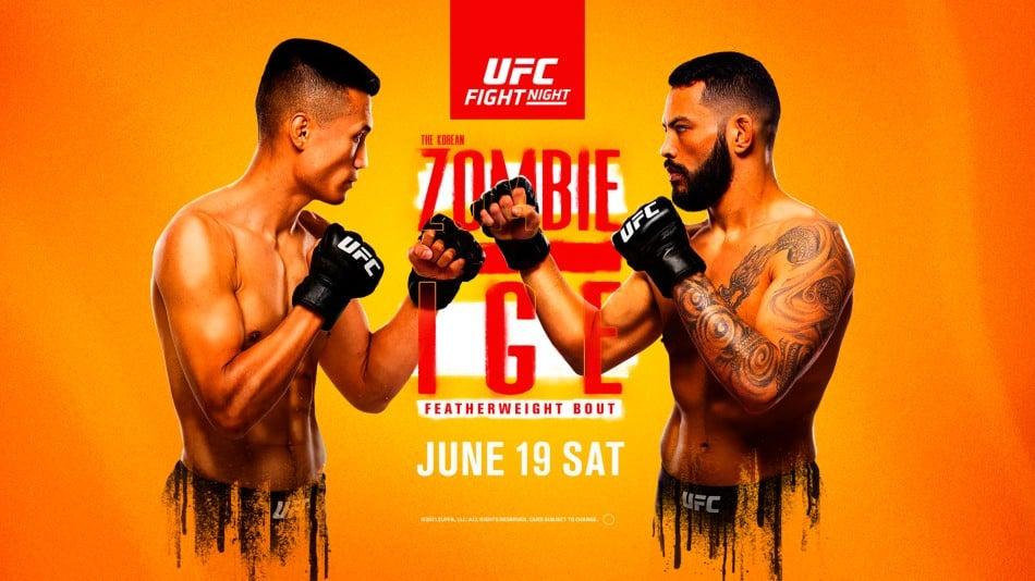 UFC Vegas 29 results - Korean Zombie vs. Dan Ige
