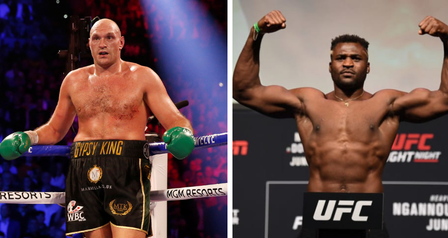 Tyson Fury Confirms He Will Face Francis Ngannou In MMA Gloves After Wilder And Joshua