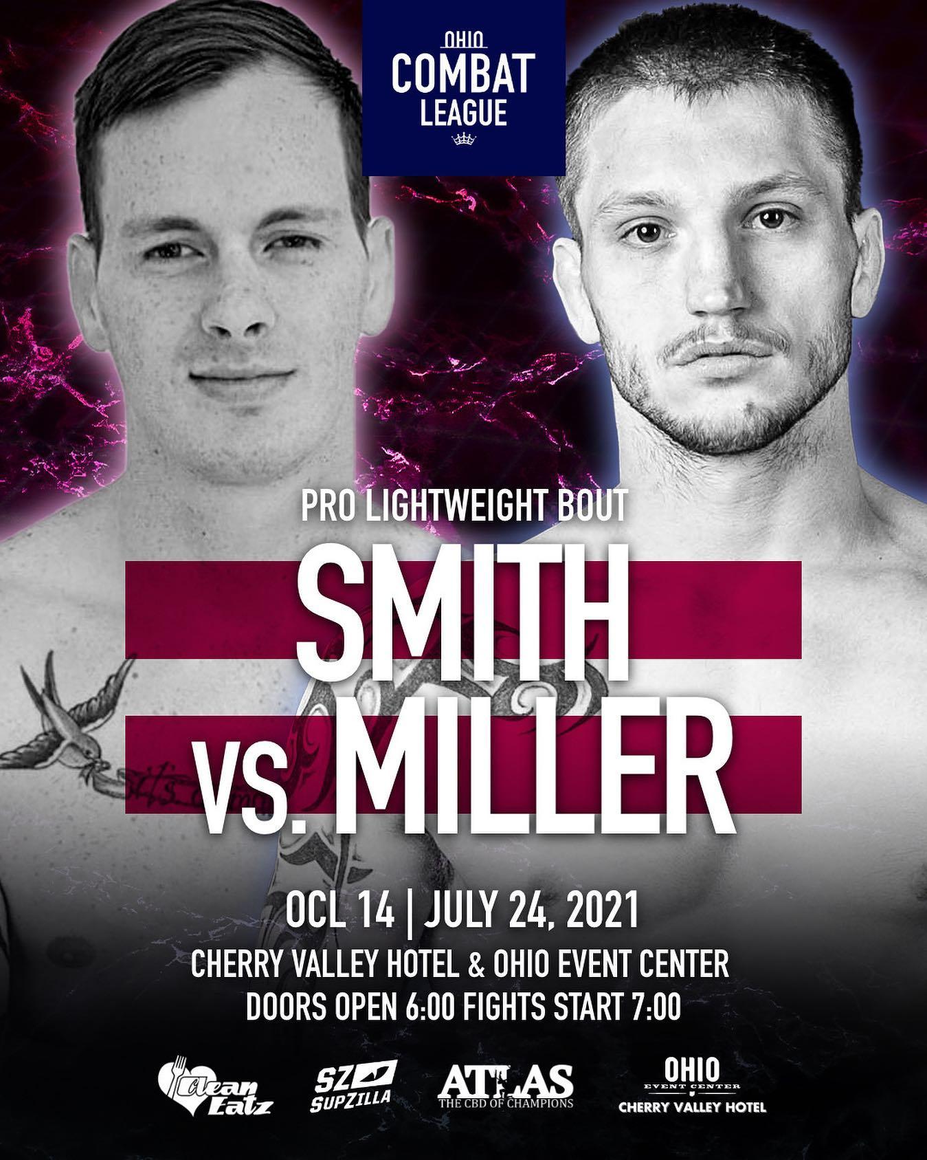 Ohio Combat League, OCL 14, Ohio Combat League 14, Jake Miller