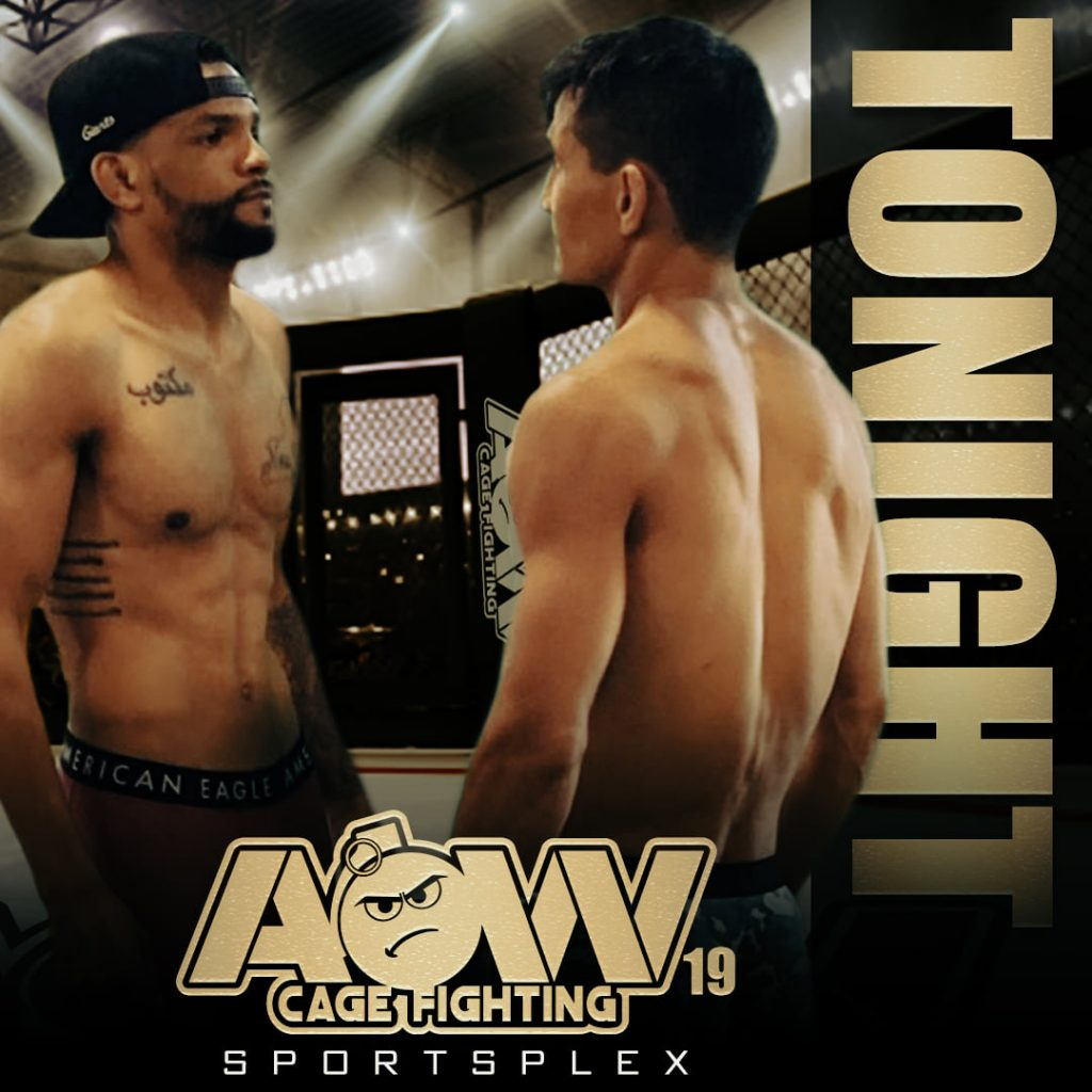 Art of War Cage Fighting 19 results - AOW 19 - Cafaro vs. Abdullah