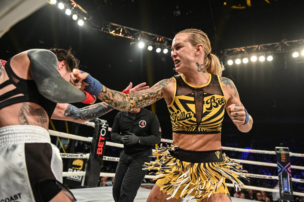 Taylor Starling and Britain Hart say they will only fight each other for the BKFC strap