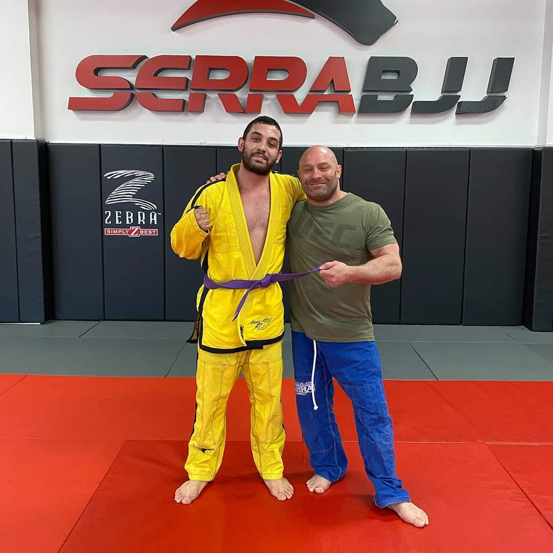 Christian Alcala and Matt Serra