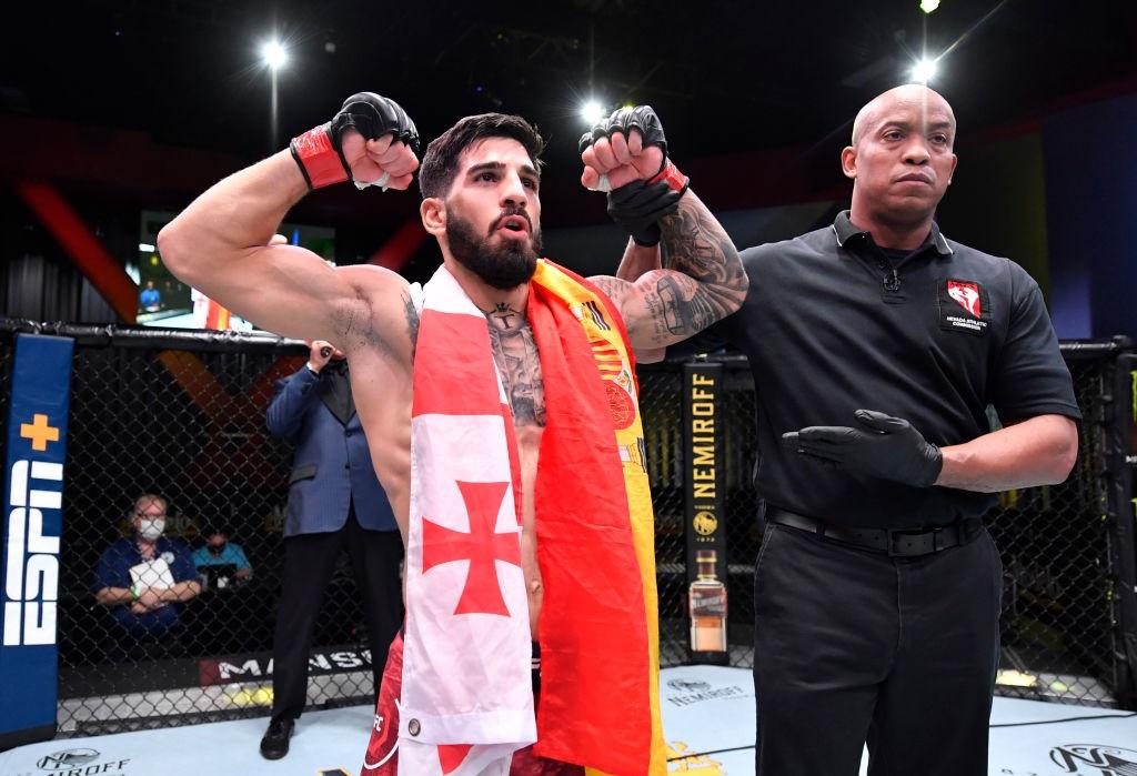 Ilia Topuria, UFC 264