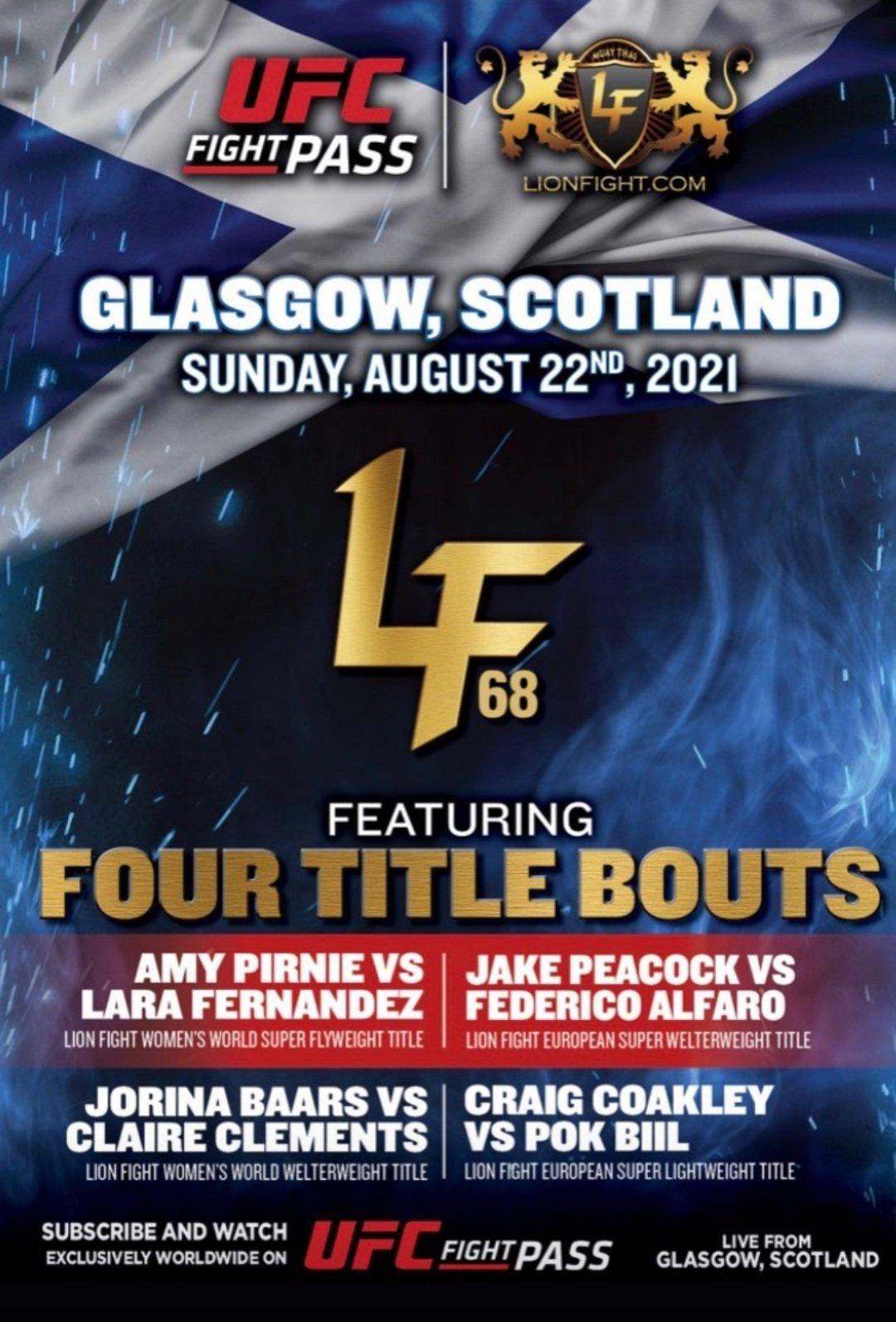 LFA 68, Glasgow, Scotland