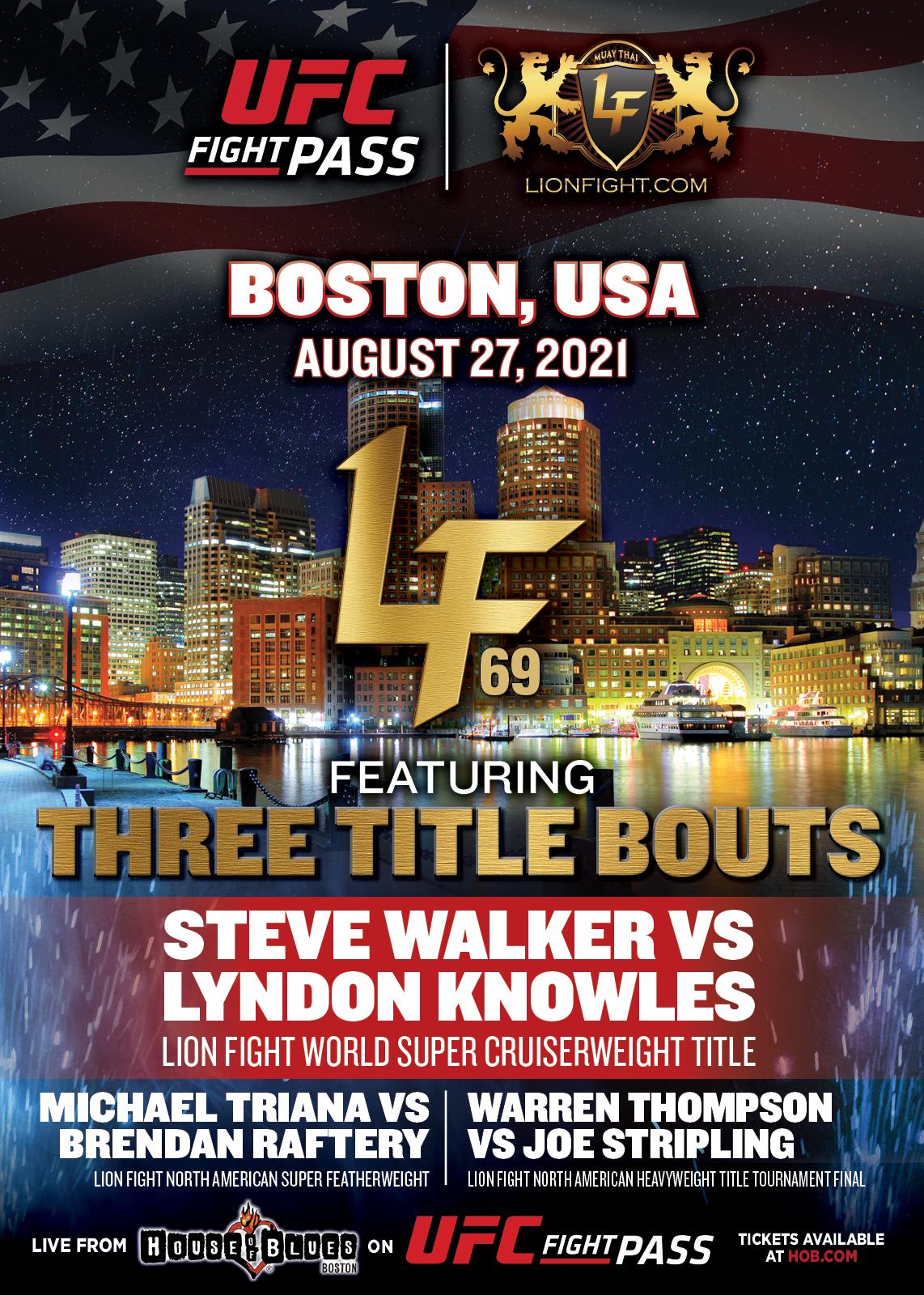LFA 69, Boston