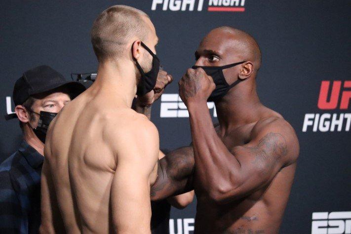 Jared Gooden Starches Niklas Stolze Early At UFC Vegas 33