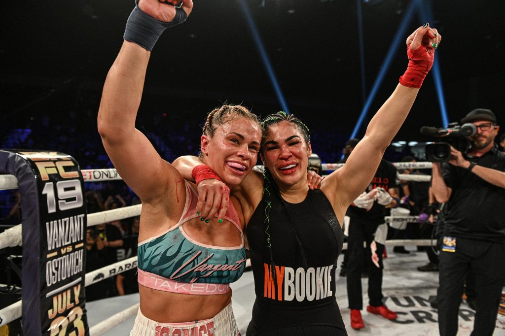 """Rachael Ostovich on BKFC 19 debut win over Paige VanZant: """"I really was having a damn good time in there"""""""