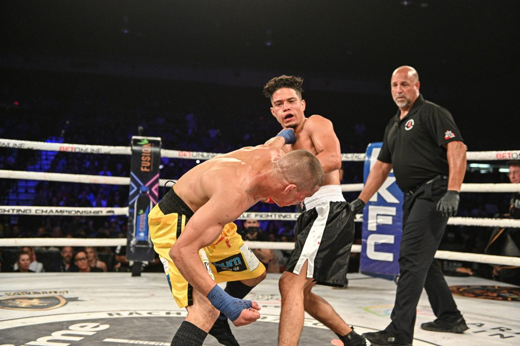 """Geane Herrera says feud with Abdiel Velazquez is """"Completely done"""" after BKFC 19 win"""