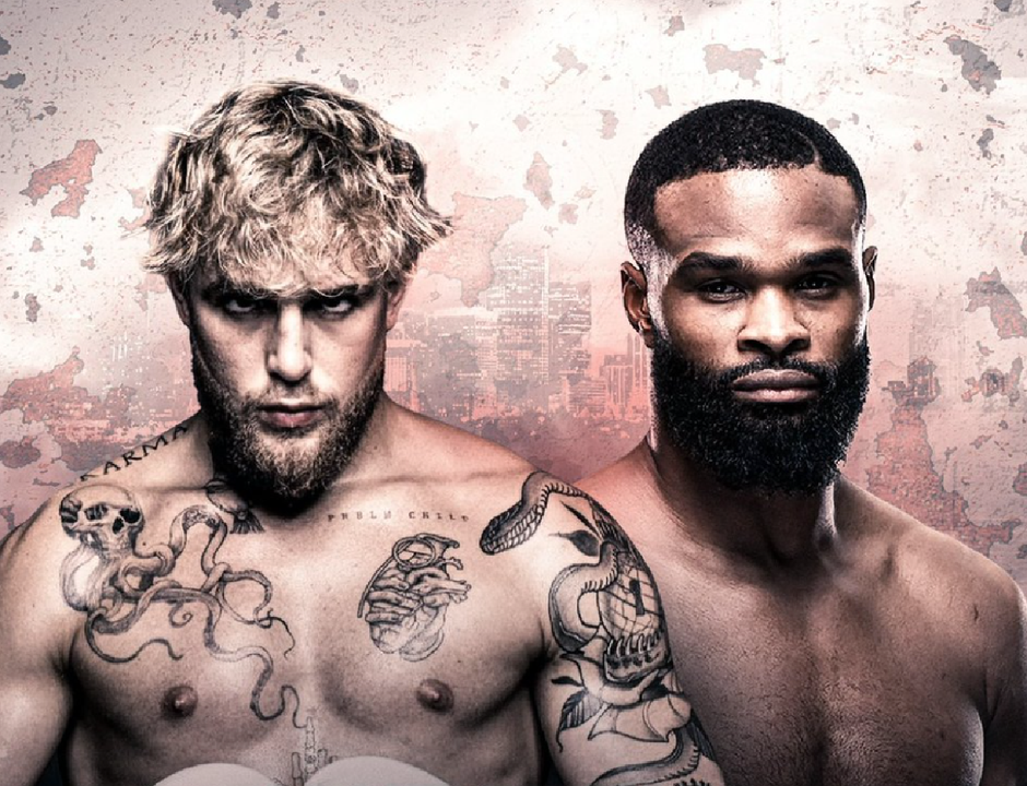 Jake Paul to face former UFC champ Tyron Woodley - Headlining Showtime Boxing event on Sunday, August 29