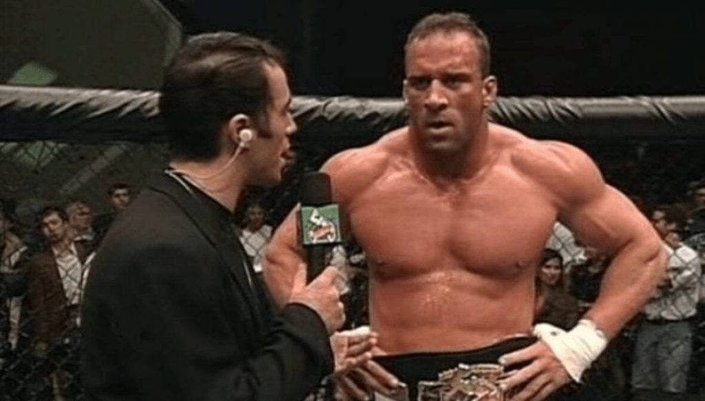 """Mark Coleman on UFC fighter pay: """"Compared to what we got back when I was fighting. They're getting paid pretty good"""""""