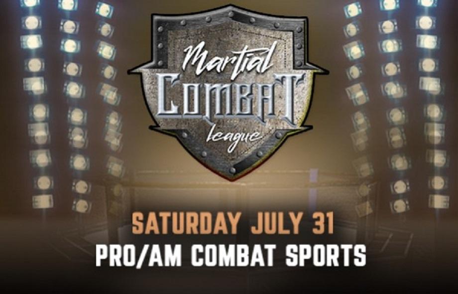 Martial Combat League -July 31st - PPV Live Stream