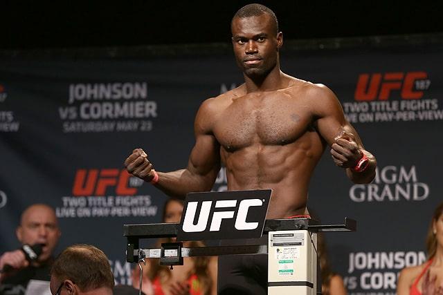 UFC Vegas 33, Uriah Hall