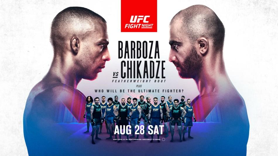 UFC Vegas 35 results - Barboza vs. Chikadze