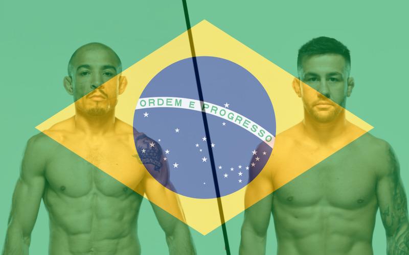 Jose Aldo vs Pedro Munhoz, UFC 265