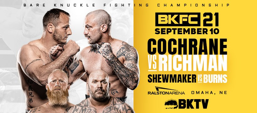 BKFC 21 pay-per-view and results - Cochrane vs. Richman