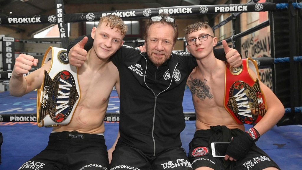 Jay Snoddon and James Braniff earn WKN titles at Fight Club made-in Prokick in Belfast