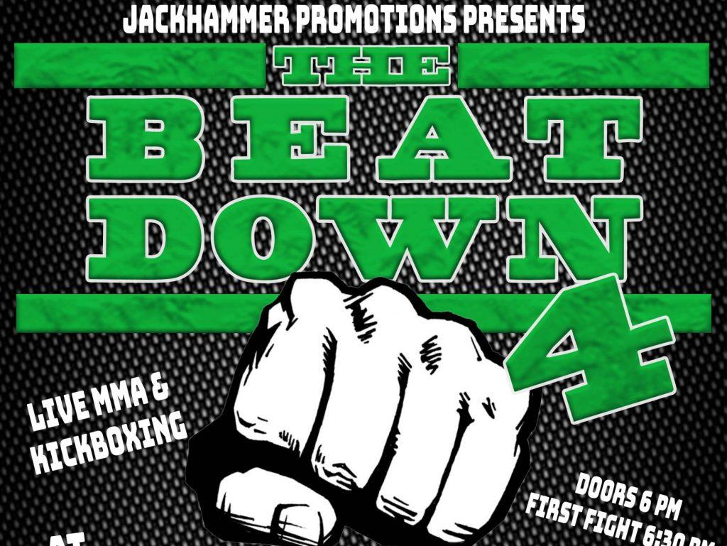 Jackhammer Promotions - The Beat Down 4: Ryan Gerena Fights Brock Morgan