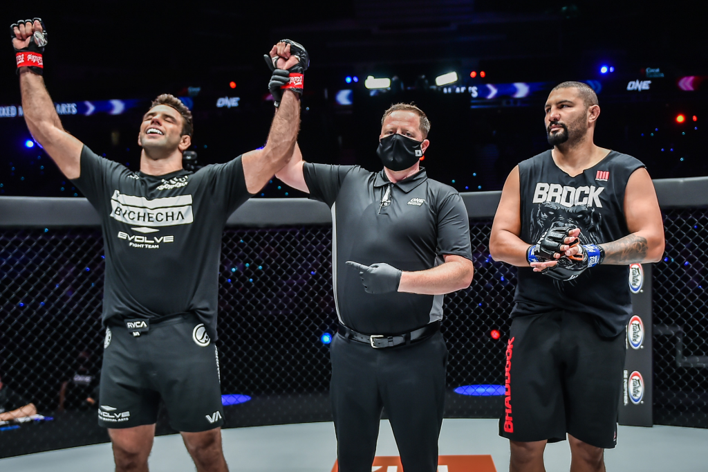 Buchecha's MMA debut