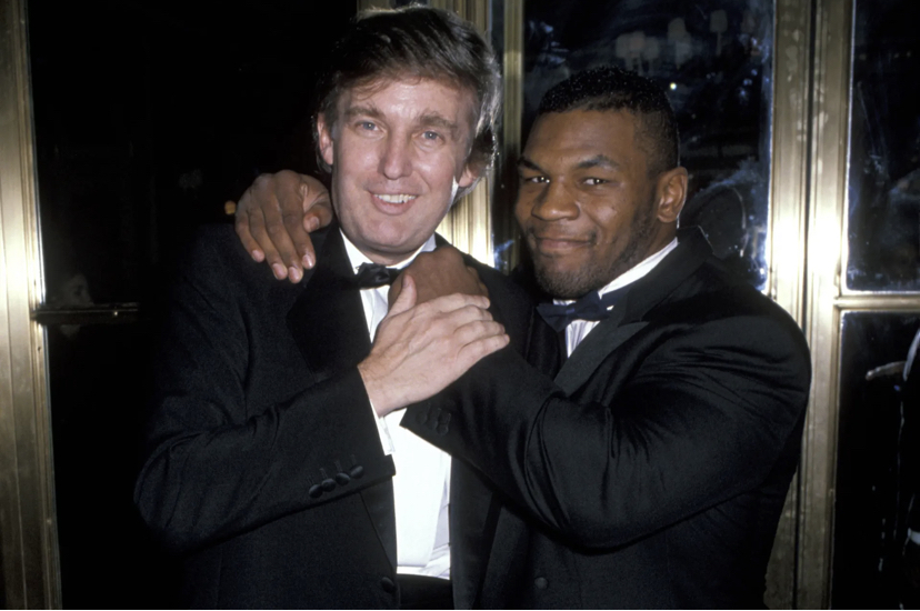 Donald Trump, Mike Tyson