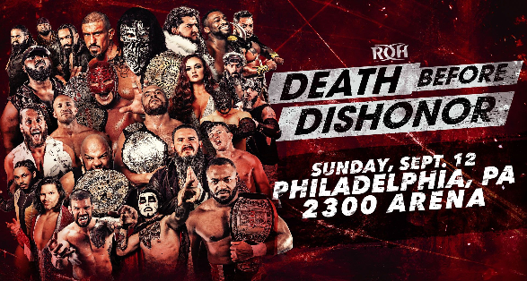 Ring of Honor - Death Before Dishonor 2021 - PPV Live Stream
