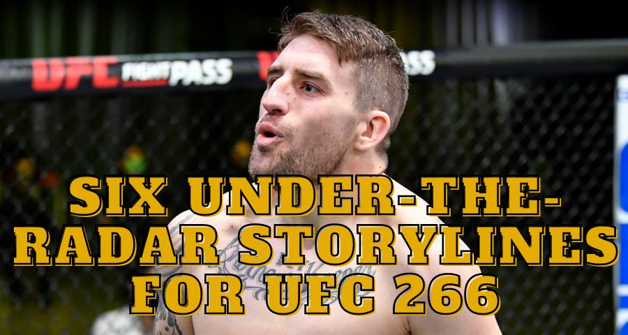 UFC 266, Chris Daukaus