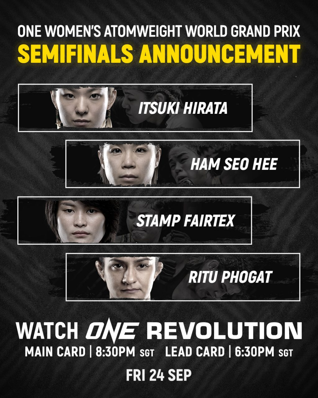 ONE Atomweight Grand Prix semi-finals