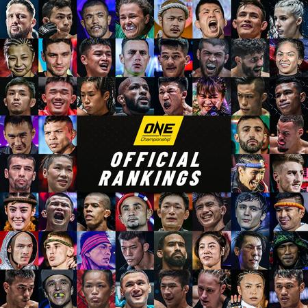 ONE Championship Rankings Update