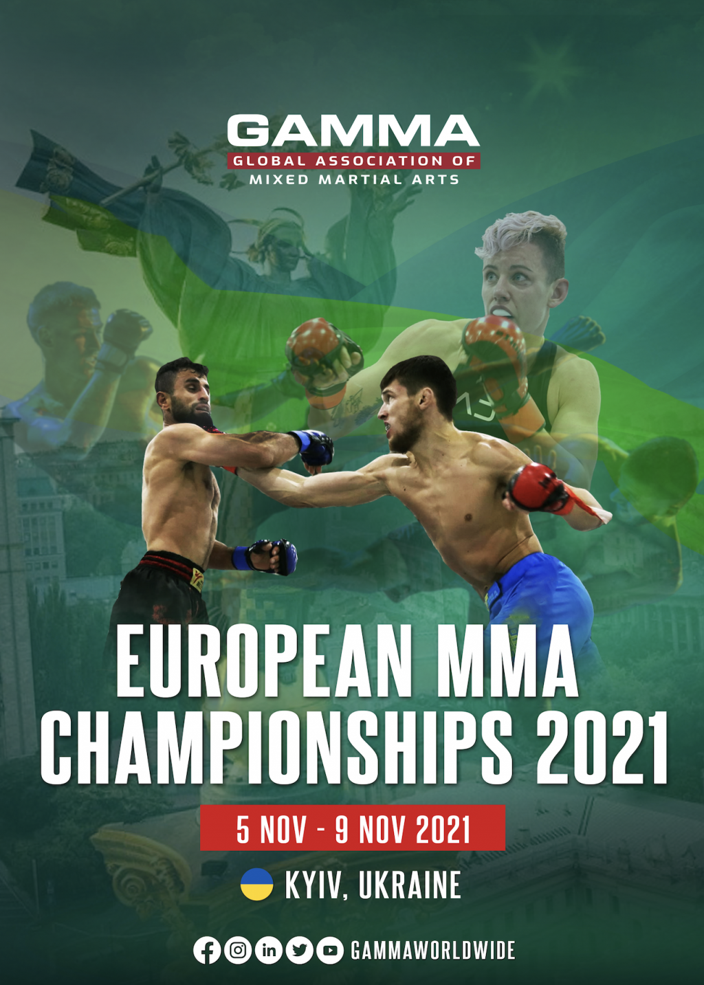 COVID Restrictions Force Move of European MMA Championships 2021 to Ukraine