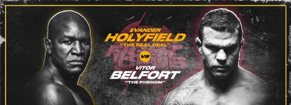 Triller Fight Club III - Holyfield vs Belfort - Weigh In - Free Live Stream