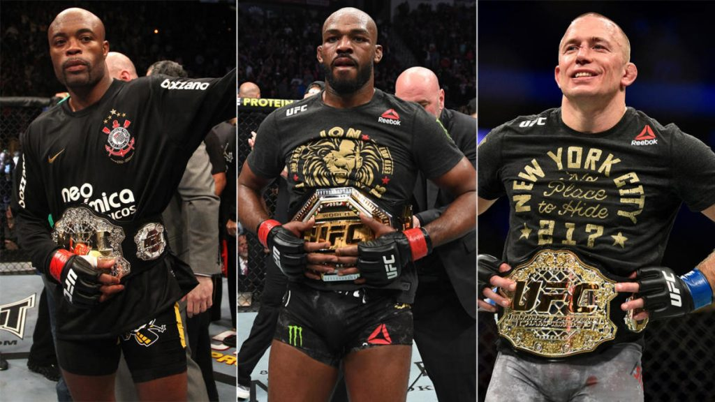 6 Greatest MMA Fighters of all Time