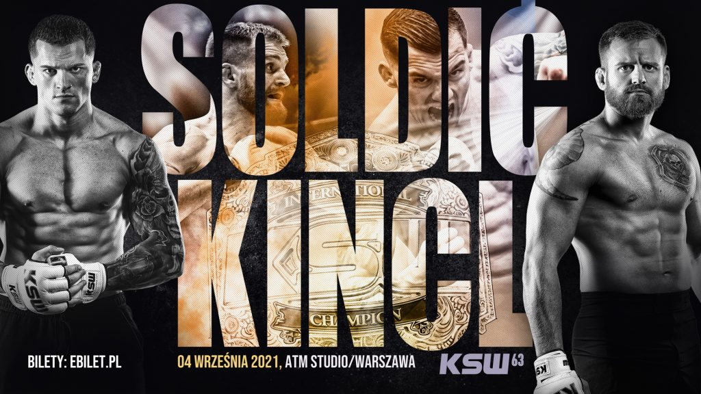 KSW 63 results - Soldic vs. Kincl - Watch Here