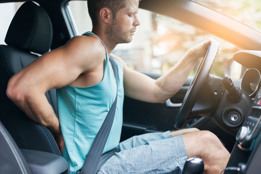 How to Alleviate Back Pain While Driving