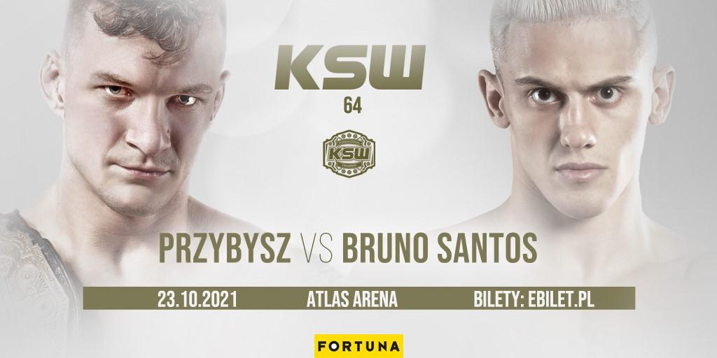 Sebastian Przybysz defends bantamweight title at KSW 64