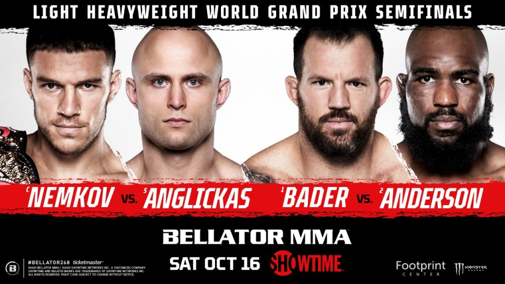 Julius Anglickas Gets Chance of a Lifetime as the Grand Prix Alternate Replaces 'Rumble' Johnson in BELLATOR 268 Main Event Against World Champion Vadim Nemkov on Oct. 16