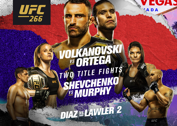UFC 266 Results - Volkanovski vs. Ortega - Order and watch