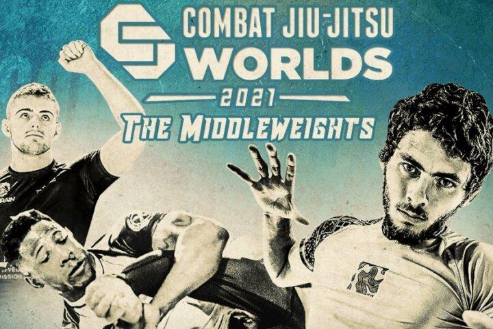 Combat Jiu Jitsu Worlds 2021: The Middleweights - LIVE RESULTS